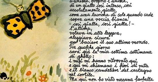 le farfalle non vivono nel ghetto copertina