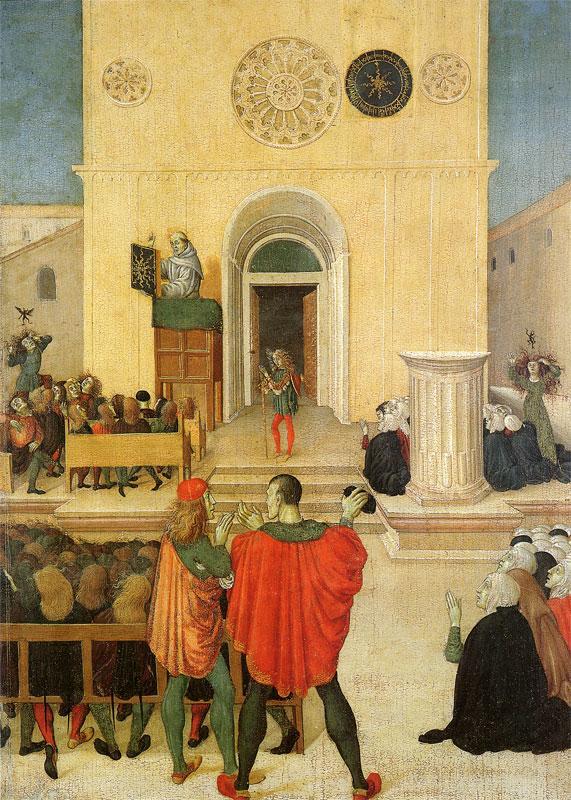Maestro delle storie di San Giovanni da Capestrano. 1480/85. Dettaglio
