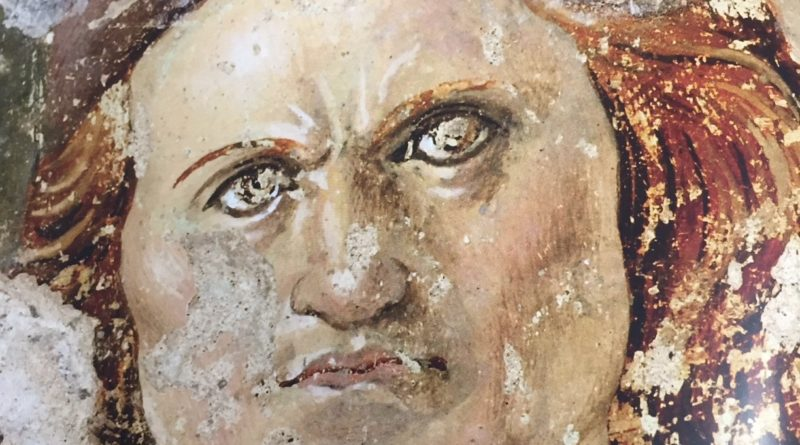 Autoritratto di Saturnino Gatti. Dalla chiesa di S.Margherita a Cascia