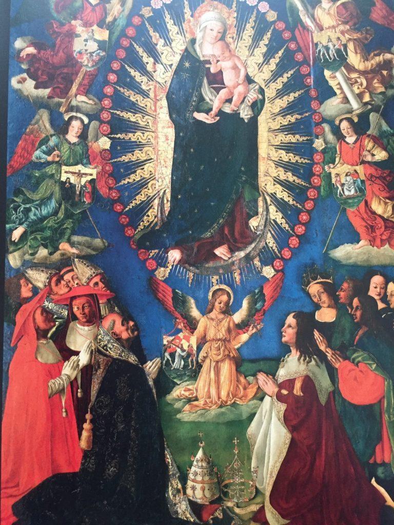 La Madonna del Rosario dalla chiesa di San Domenico, 1509-1511