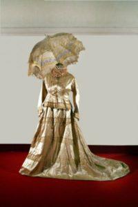 abito da sposa, 1902.